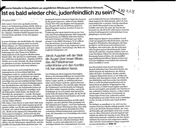 Antisemit Augstein