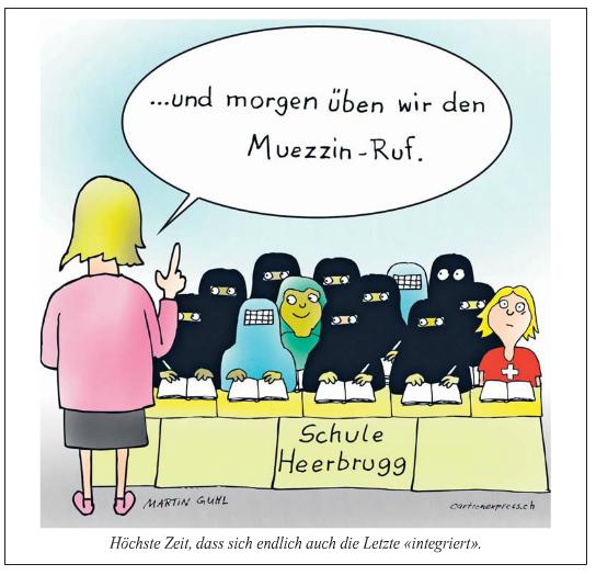 Schule mit Muslimas