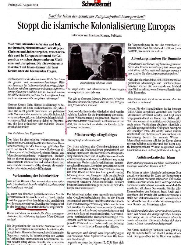 Krauss Seite 1 Schweizerzeit