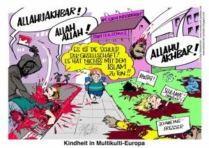 Kindheit in Multikulti Europa