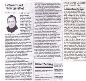 Melzl Schweiz und Täter gerettet